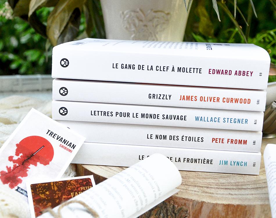 Sélection de livres de la collection Totem aux Editions Gallmeister