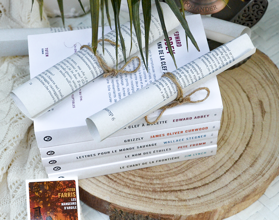 Collection de livres Totem des éditions Gallmeister