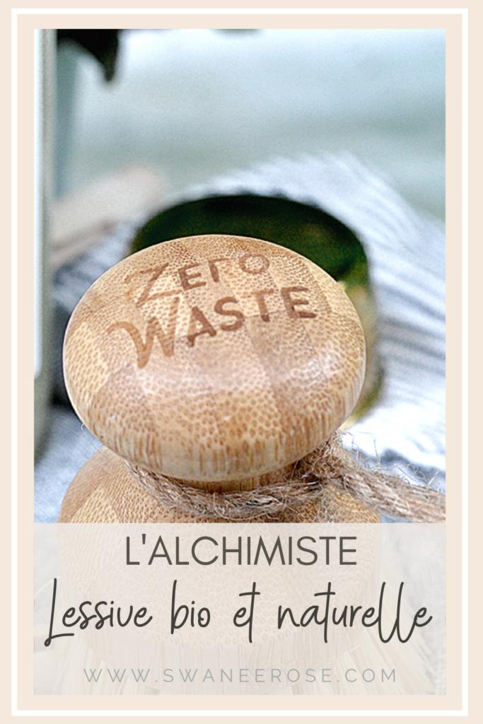Lessive naturelle et minimaliste de L'Alchimiste Paris