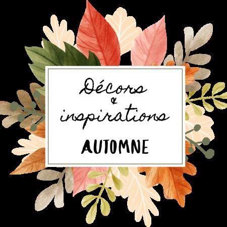 Décors et inspirations d'automne sur Swanee Rose Le Blog
